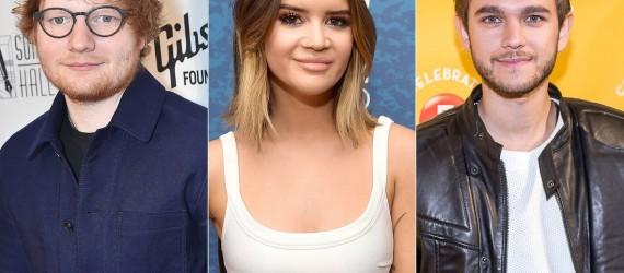 Ed Sheeran, Zedd y Maren Morris estarán presentes en los Billboard