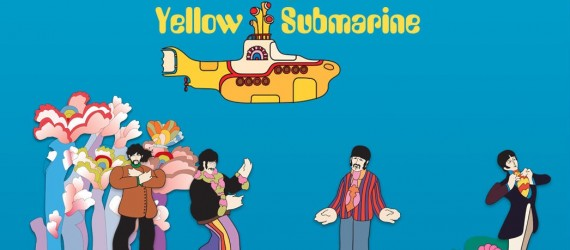 YELLOW SUBMARINE DE LOS BEATLES CUMPLE SU QUINCUAGÉSIMO ANIVERSARIO