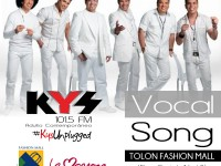 #KysUnplugged: Vocal Song, este miércoles en el Tolón