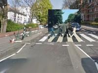 Google Street ubica portadas de disco famosos