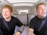 Ed Sheeran y James Corden cantaron temas de Justin Bieber y One Direction en Carpool Karaoke