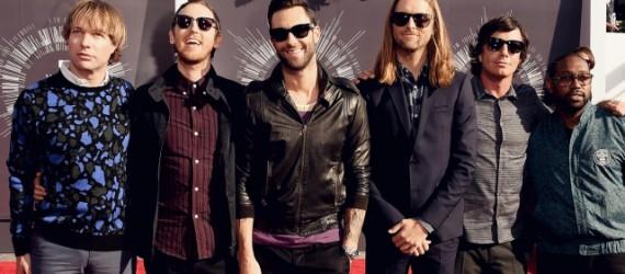 Maroon 5 versionò un clásico de Bob Marley