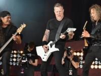 Metallica y Rihanna cantaron en Nueva York en apoyo a los refugiados