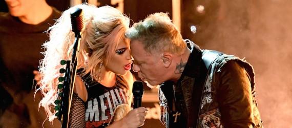 Metallica quiere volver a trabajar con Lady Gaga