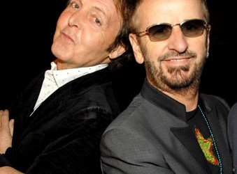 Paul McCartney y Ringo Starr homenajean a Los Beatles